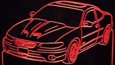 1998 Grand Prix GTP Acrylic Lighted Edge Lit LED Sign / Light Up Plaque Full Size Made in USA