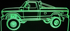 1978 Ford Pickup Truck Acrylic Lighted Edge Lit LED Sign / Light Up Plaque Full Size Made in USA