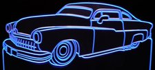 1950 FD old car Acrylic Lighted Edge Lit LED Sign / Light Up Plaque Full Size Made in USA