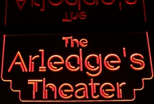 Theater Home Theater Box Office Acrylic Lighted Edge Lit LED Sign / Light Up Plaque Full Size Made in USA