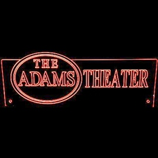 Theater Sign with Oval (add your text) Home Movies Acrylic Lighted Edge Lit LED Sign / Light Up Plaque Full Size Made in USA