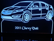 2011 Volt Acrylic Lighted Edge Lit LED Sign / Light Up Plaque Full Size Made in USA