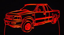 1997 Ford F150 Pickup Truck Acrylic Lighted Edge Lit LED Sign / Light Up Plaque 97