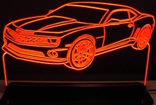 2013 Camaro 1LE Acrylic Lighted Edge Lit LED Sign / Light Up Plaque Full Size Made in USA