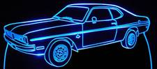 1971 Dodge Demon Acrylic Lighted Edge Lit LED Car Sign / Light Up Plaque 71
