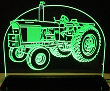 Tractor John Deere 4520 Farm Equipment Acrylic Lighted Edge Lit LED Sign / Light Up Plaque