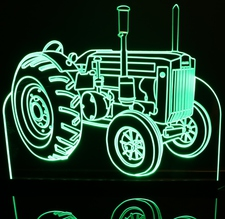 Tractor John Deere JD Acrylic Lighted Edge Lit LED Sign / Light Up Plaque Full Size USA Original