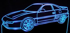 1991 Toyota MR2 Acrylic Lighted Edge Lit LED Sign / Light Up Plaque Full Size Made in USA