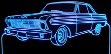 1965 Ford Falcon Acrylic Lighted Edge Lit LED Car Sign / Light Up Plaque