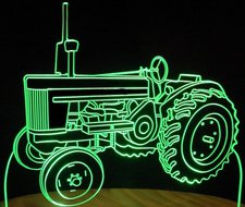 Tractor John Deere 720 Acrylic Lighted Edge Lit LED Farm Equipment Sign / Light Up Plaque