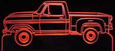 1979 Ford Pickup F100 F150 Truck Acrylic Lighted Edge Lit LED Sign / Light Up Plaque Full Size Made in USA