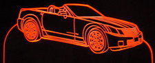 2007 Cadillac XLR V Convertible Acrylic Lighted Edge Lit LED Car Sign / Light Up Plaque