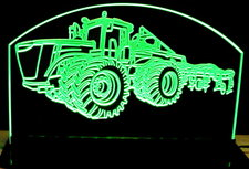 Tractor 9460R John Deere Acrylic Lighted Edge Lit Led Farm Tractor Sign / Light Up Plaque