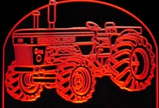 Tractor Minneapolis-Moline G900 Acrylic Lighted Edge Lit LED Farm Equipment Sign / Light Up Plaque