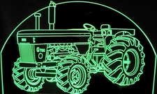 Tractor Moline G 706 MM G706 Farm Equipment Acrylic Lighted Edge Lit LED Sign / Light Up Plaque Full Size Made in USA