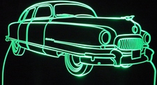 1951 Nash Acrylic Lighted Edge Lit LED Car Sign / Light Up Plaque