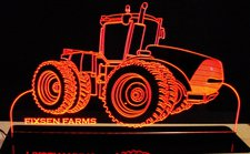 Tractor Case 400 Acrylic Lighted Edge Lit LED Sign / Light Up Plaque