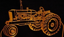 Tractor Allis Chalmers Acrylic Lighted Edge Lit LED Farm Equipment Sign / Light Up Plaque