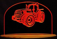 Tractor Case 275 Farm Acrylic Lighted Edge Lit LED Sign / Light Up Plaque Full Size Made in USA