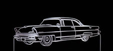 1956 Lincoln Mark II Acrylic Lighted Edge Lit LED Car Sign / Light Up Plaque