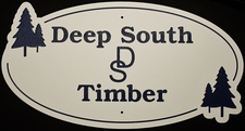 "3 Name Sign Laminated Acrylic 21"" x 10"" State Your Text Deep So Timber with Trees Made in the USA"