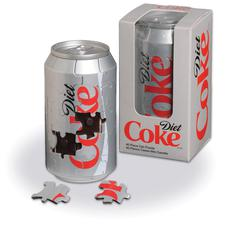Jigsaw Puzzle Diet Coca-Cola Can Coke 40 piece